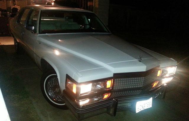 Cadillac Fleetwood Sedan 1979 White For Sale ...