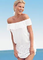 Venus off the shoulder swimsuit cover up
