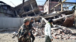 Deadly earthquake strikes India