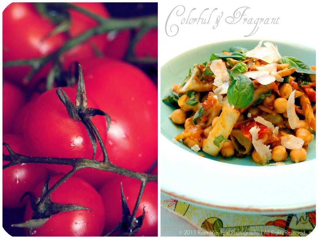 Chickpea Salad Picnik collage 2 bis