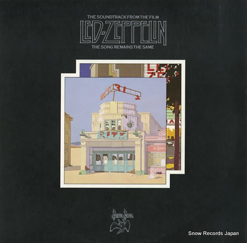 LED ZEPPELIN song remains the same, the