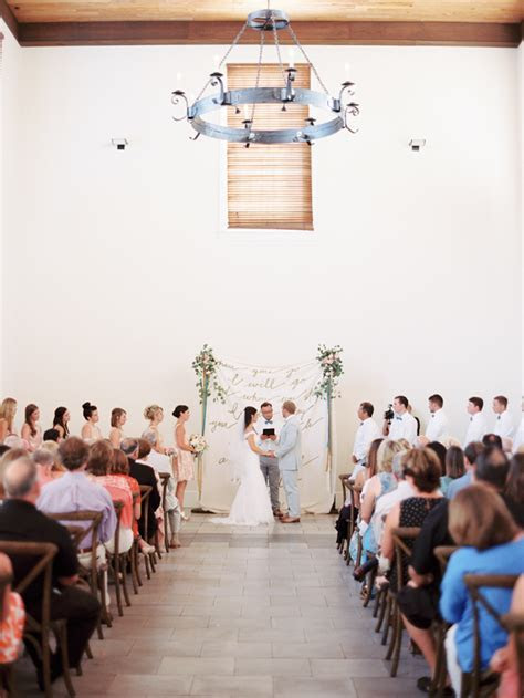 southern wedding rosemary town hall ceremony