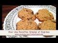 Recette Biscuit Avoine Raisin