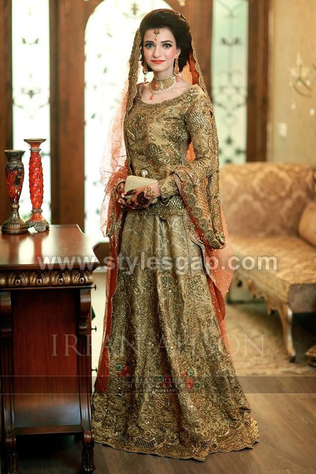 pakistani bridal lehenga dresses designs styles 20182019