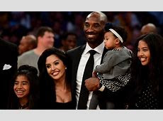 Retired NBA Allstar Kobe Bryant and wife Vanessa welcome