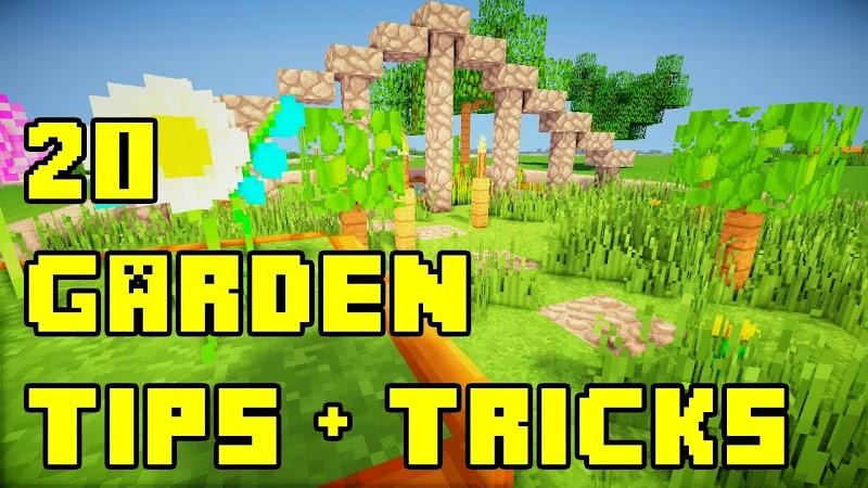 Get Inspired For Garden Ideas In Minecraft Photos