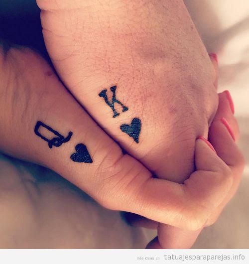Tatuajes Pequeños En Pareja Símbolos De Infinito Corazones Anclas