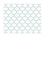 A2 card size JPG light turquoise Moroccan tile distressed paper SMALL SCALE