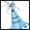 How<br />  to Make a Cone Hats   : Birthday Party Crafts for Children