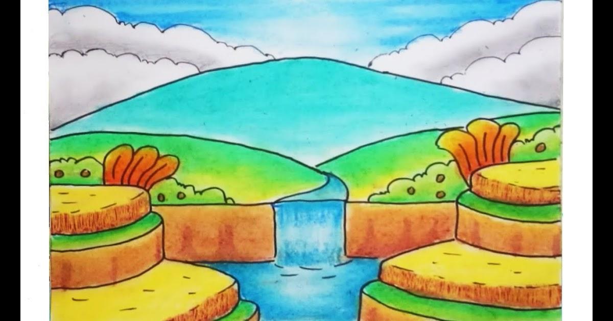 Gambar Pemandangan Gunung Yang Mudah Ditiru - Kumpulan ...