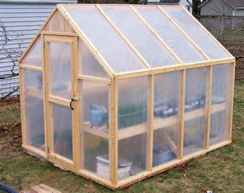 build  simple greenhouse home design garden