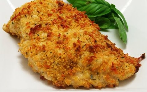 Panko Chicken Recipe : Crispy Parmesan Crusted Chicken Baked Spend With Pennies / 'cause those are two words that never fail to make our ears perk up.