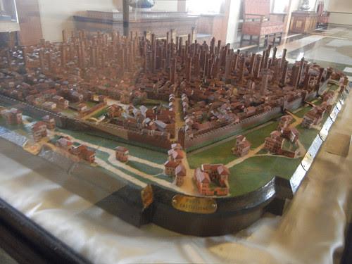 DSCN4693 _ Model of ancient Bologna, Palazzo D'Accursio (Palazzo Comunale), Bologna, 18 October