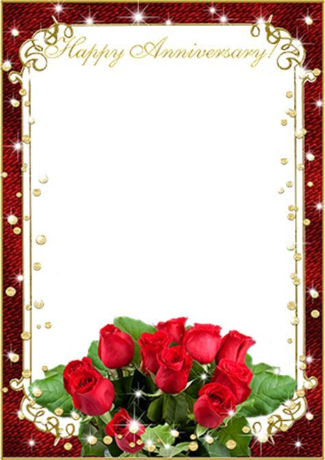 Photo frames. Wish you a happy anniversary