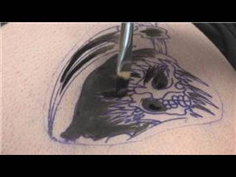 At-home temporary tattoos can be created by using a variety of different