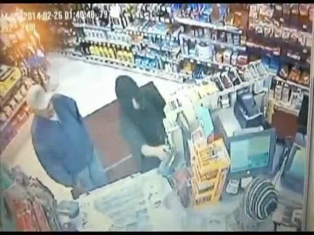 Armed Thief Gets Body Slammed by Store Customer