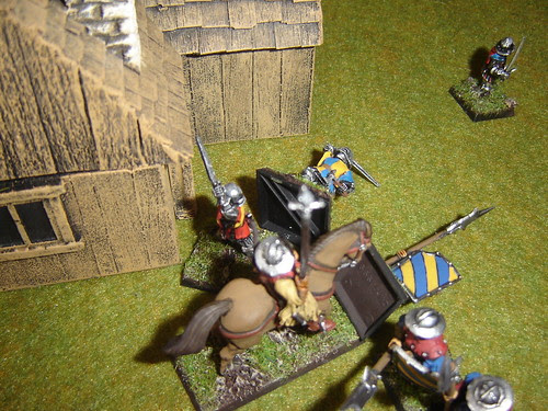 Flanking force hits hard