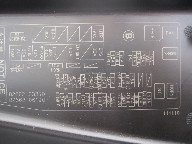 33 2007 Toyota Camry Interior Fuse Box Diagram - Free Wiring Diagram Source | 2008 Camry Fuse Box Diagram |  | Free Wiring Diagram Source