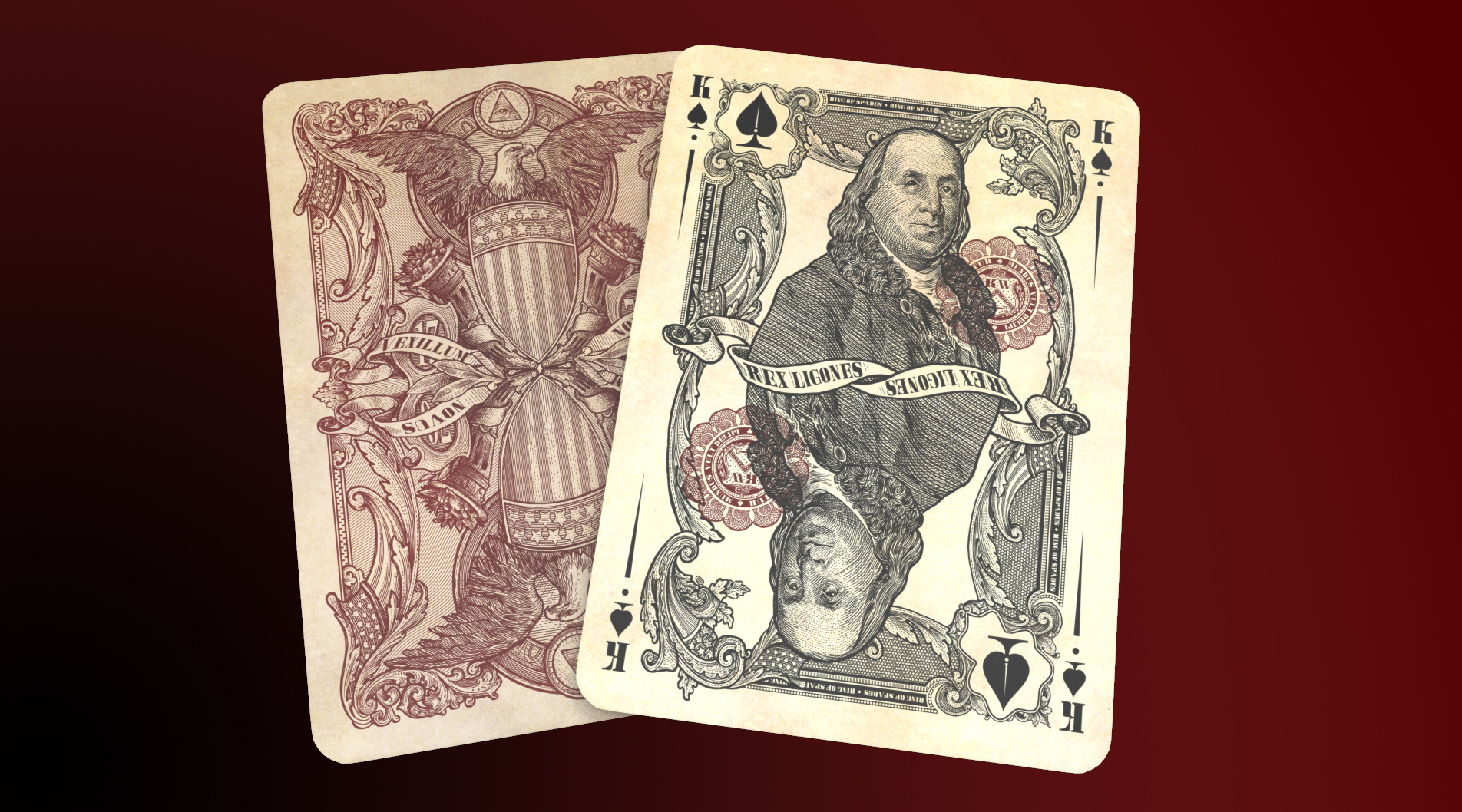 Unlimited & Limited Edition Reserve Note King of Spades