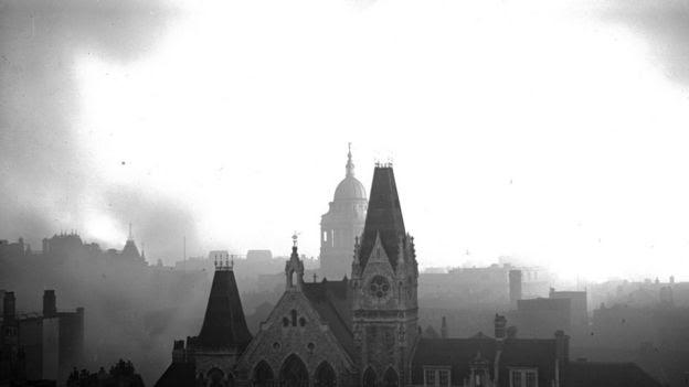 Londres durante el Blitz
