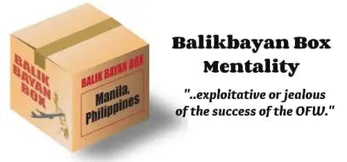 Balikbayan Box Mentality