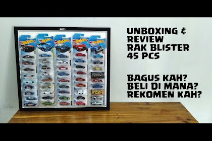 Youtube : Unboxing dan Review Rak Blister, Ringkas Rapih Gans