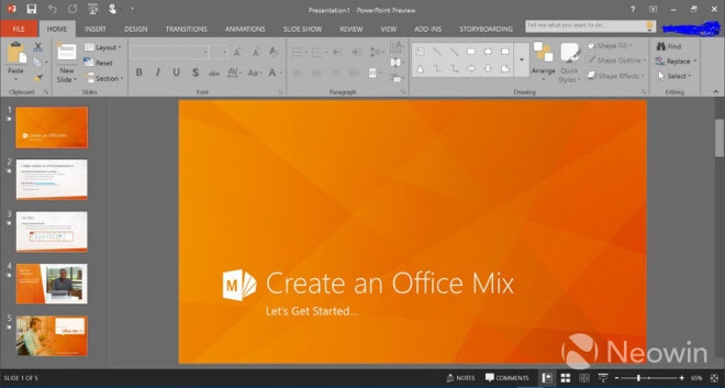 Office 2016 preview is now available from Microsoft