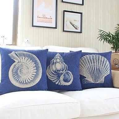 Beach Themed Throw Pillows