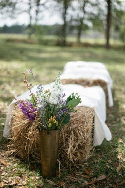 1000  ideas about Hay Bale Seating on Pinterest   Weddings