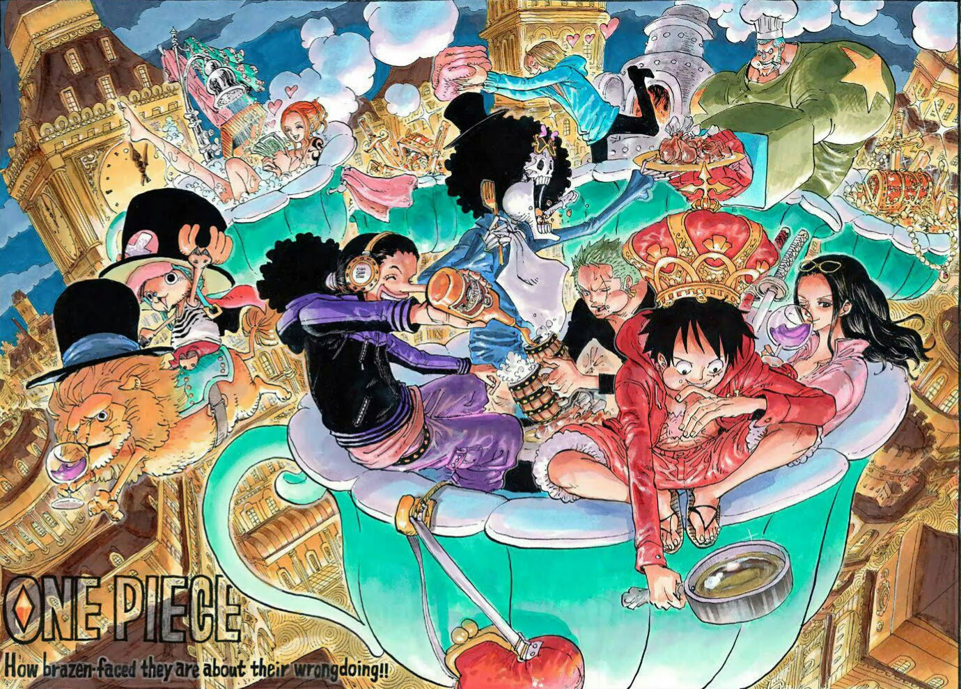 Straw Hats One Piece Hintergrund 41474186 Fanpop