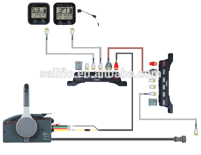 Yamaha Outboard Control Wiring