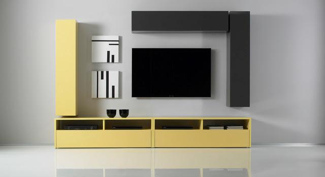 Modern Wall Unit TV Media Entertainment Center Combi 7 - $1,215.00 ...