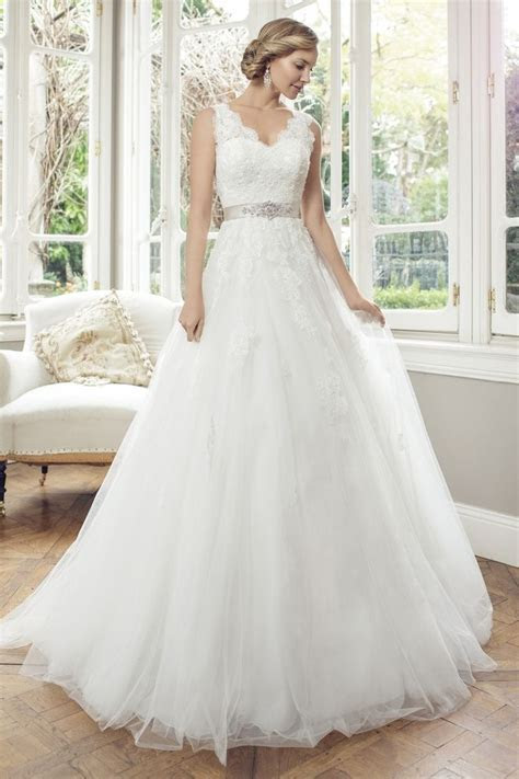 Mia Solano   M1450Z   Allyson Tulle A line wedding dress
