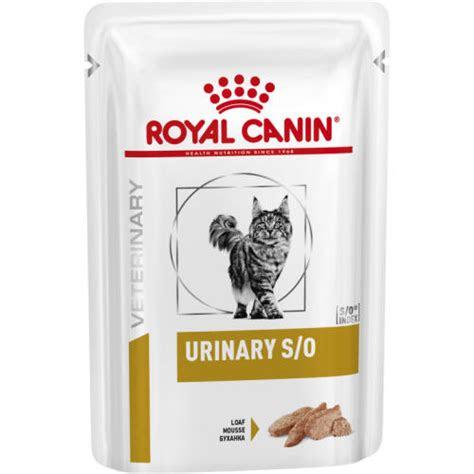 royal canin veterinary diets urinary  pouches cat food