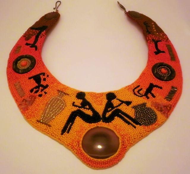 Beadwork. Handmade.