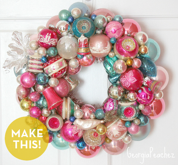 Christmas Decorations To Make And Sell How to: make colorful vintage