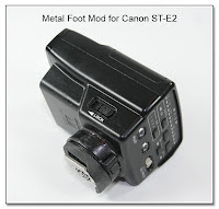 OC1004: Metal Foot Mod for Canon ST-E2