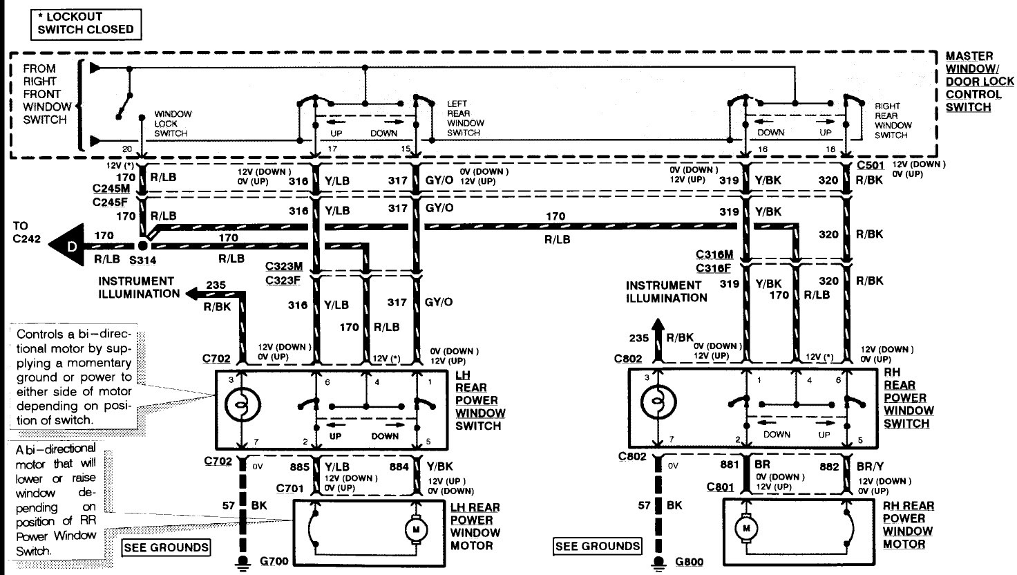 Ford Truck 150 Wiring Diagram 2002 For Window Wiring Diagram