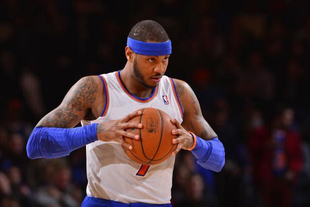 2. Carmelo Anthony, New York Knicks