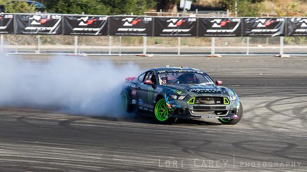Vaughn Gitten Jr Nitto Tire's Auto Enthusiast Day, presented by DrivingLine Angel Stadium, CA 1 August 2015