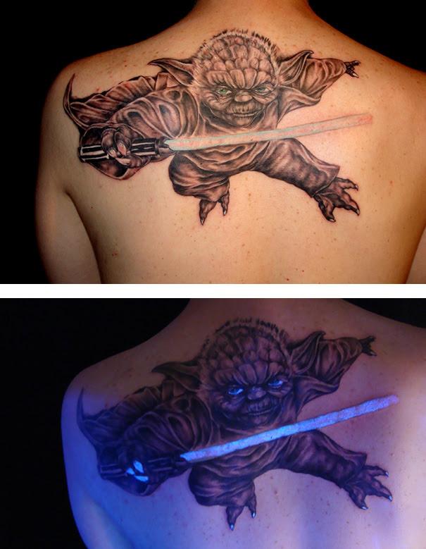 No Te Gustan Los Tatuajes Luego De Ver Estos Con Tinta Ultravioleta