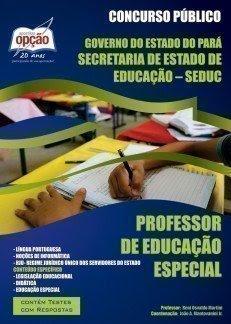 Apostila Concurso Seduc PA PROFESSOR DE EDUCAÇÃO ESPECIAL