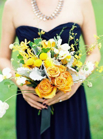 Sunshine Inspired, Yellow Bridal Bouquets