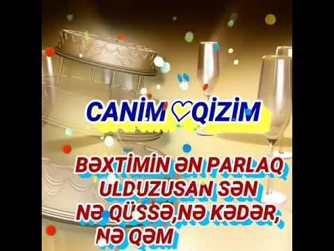 Canim Qizim Ad Gunun Mubarek Mahnisi Images Səkillər