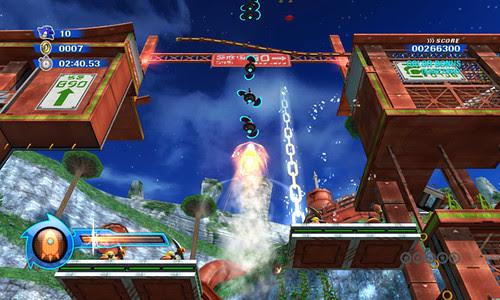 Sonic Colours - Rocket Wisp Powers