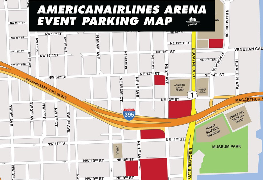 25 american airlines arena map - maps online for you