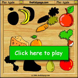 Food Puzzle Game Free Online Learning Game For Kids