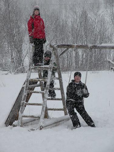 Snowing :)