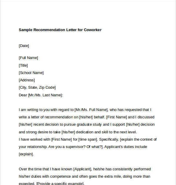 Reference letter for nurse co worker expocarfo Image collections