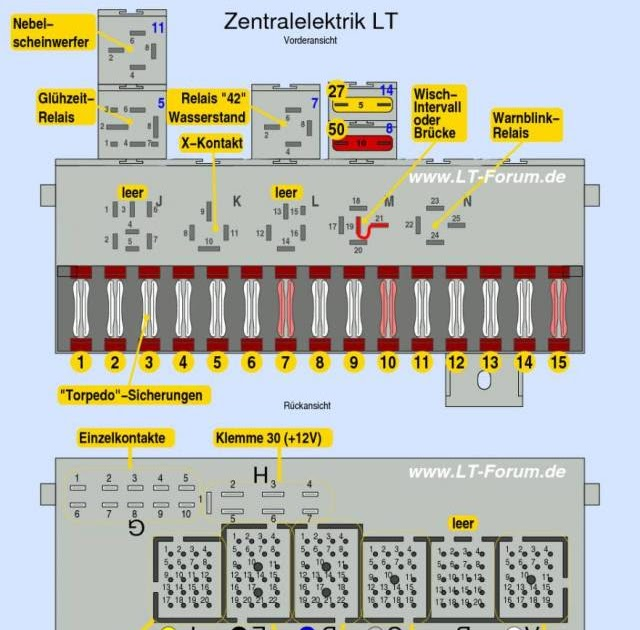 Stromlaufplan Vw Lt 35